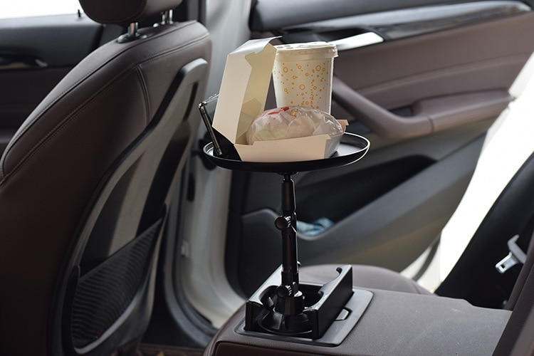 Car Dining Tray Tray Car Travel Rack Beverage Holder Food Tray Rack Cup Holder Small Dining Table Car Interior Accessories