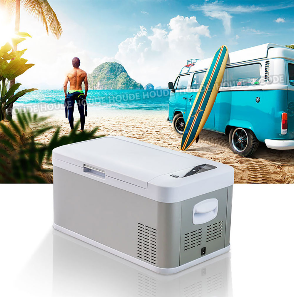 Vehicle-Mounted Refrigerator Compressor To Refrigerate 12V24V Car And Home Dual Purpose Refrigerated Cars And Trucks